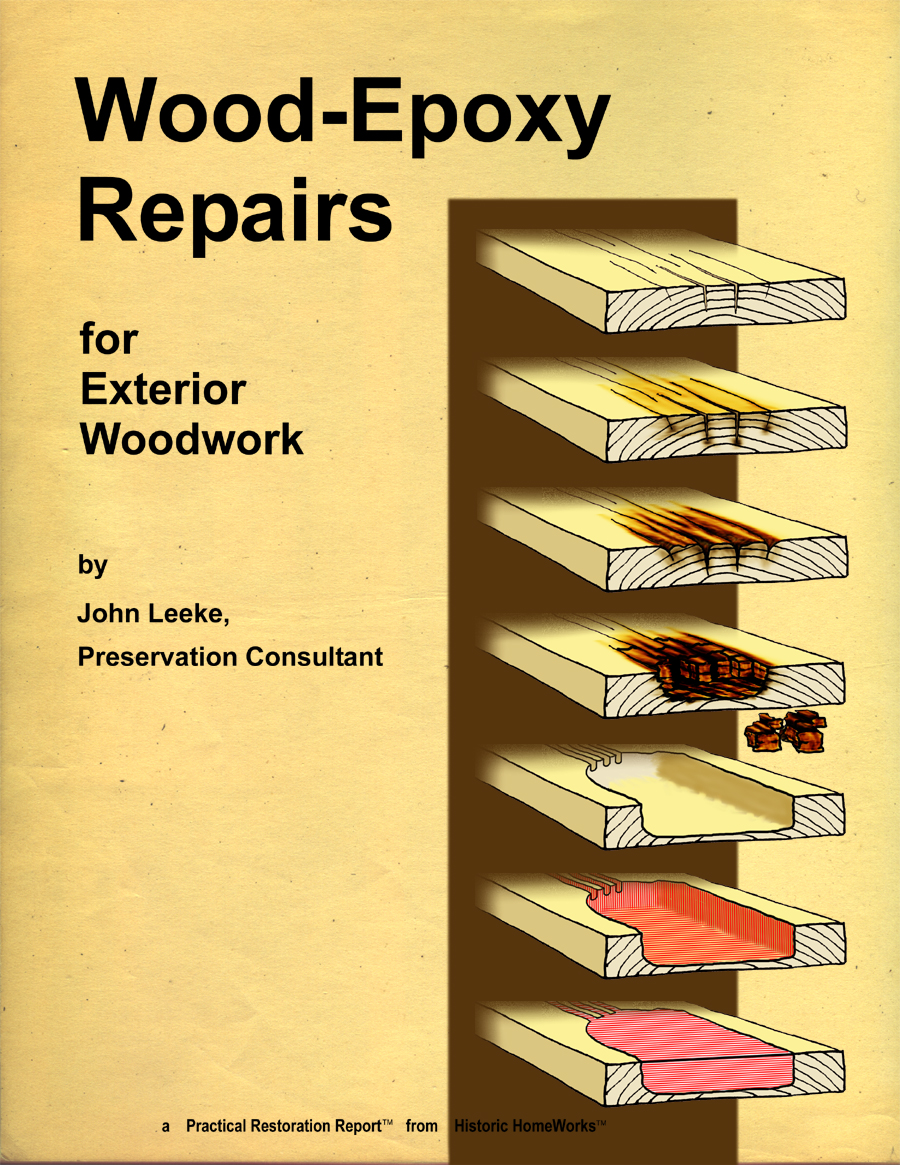 Wood Epoxy Repairs For Exterior Woodwork Abatron Inc