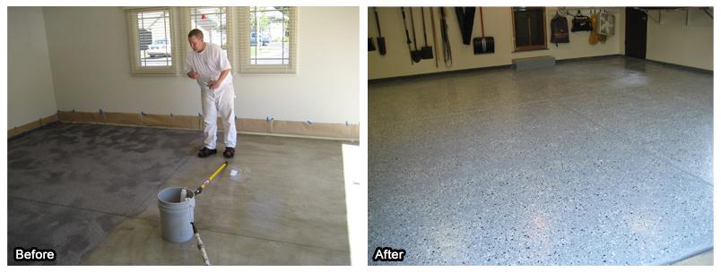 garage cute rustoleum interior paint kit restore gloss coating epoxy garages floor brown