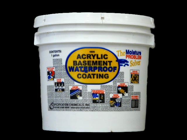 Acrylic Basement Waterproof Coating Abatron Inc