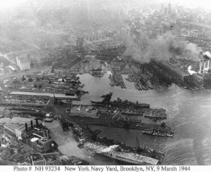 1944 picture of yard