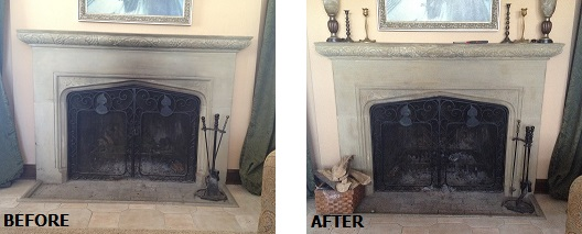 Abr Waterless Fireplace Cleaner Abatron Inc